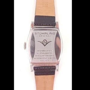 Stuhrling Original Accessories - Stuhrling Original Basilica II, Leather Watch